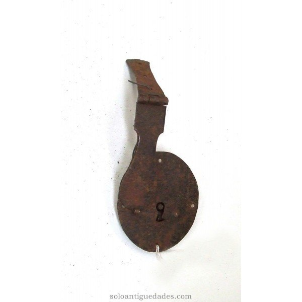 Antique Simple latch lock keeps
