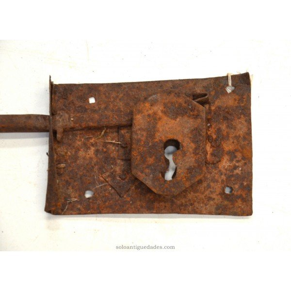 Antique Lock with a latch 35 cm
