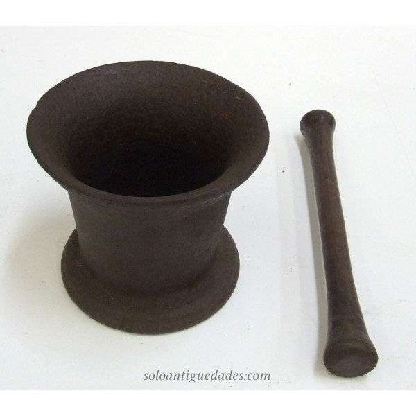 Antique Iron mortar
