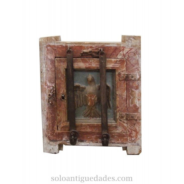 Antique Represented tabernacle door of the Holy Spirit