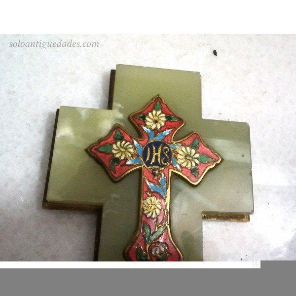 Antique Onyx Benditera Latin cross-shaped
