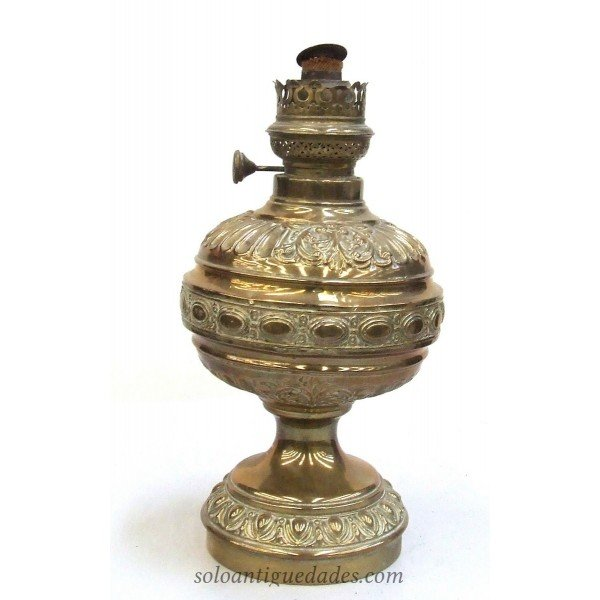 Antique Cup-shaped lamp