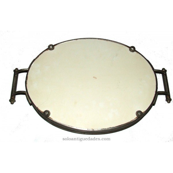 Antique Porcelain oval tray