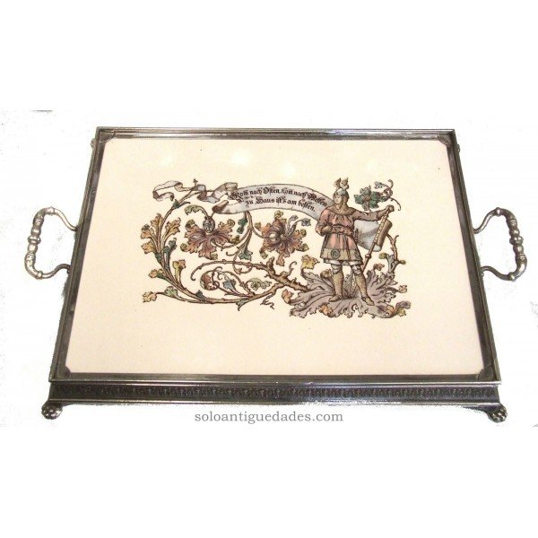 Antique Tray warrior image