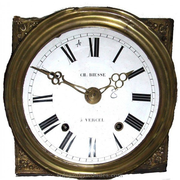 Antique Watch Type Morez with corners spandrels
