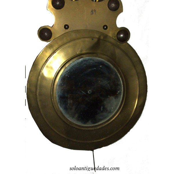 Antique Watch Type Morez. Mirror in the auction.