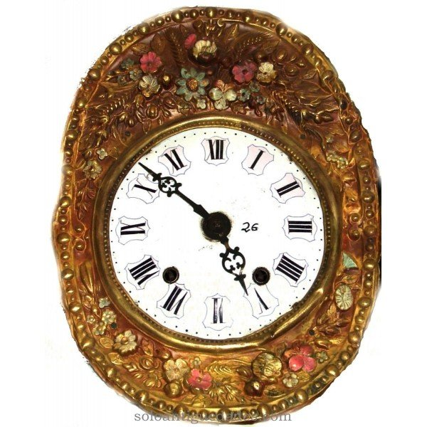 Antique Clock type repeat Morez