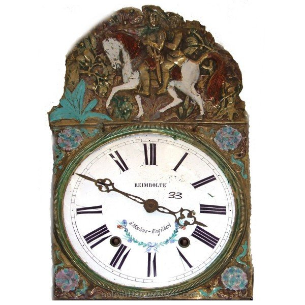 Antique Watch Type Morez. Horses in crown