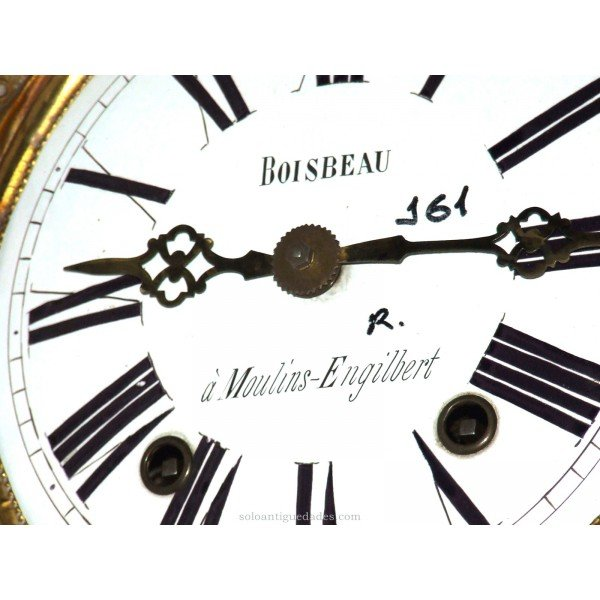 Antique Watch Type Morez. Merchant Boisbeau