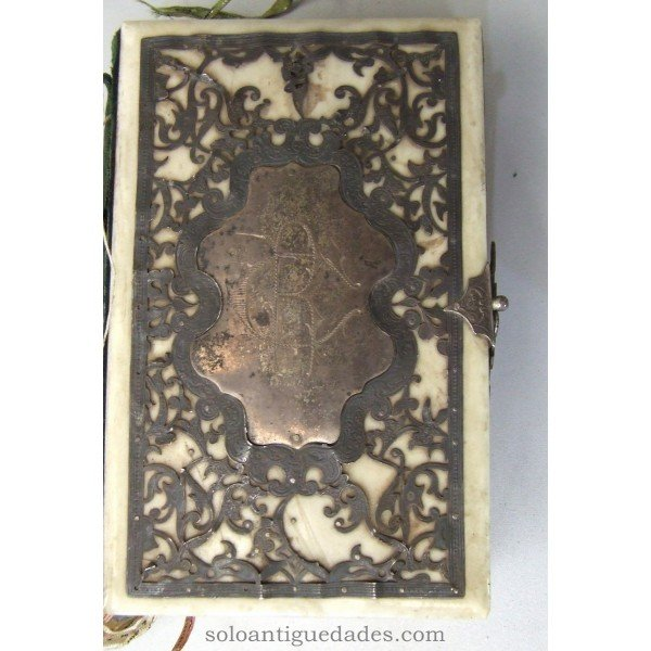"Antique Prayer Book ""THE DIAMOND OF CHRISTIAN"""