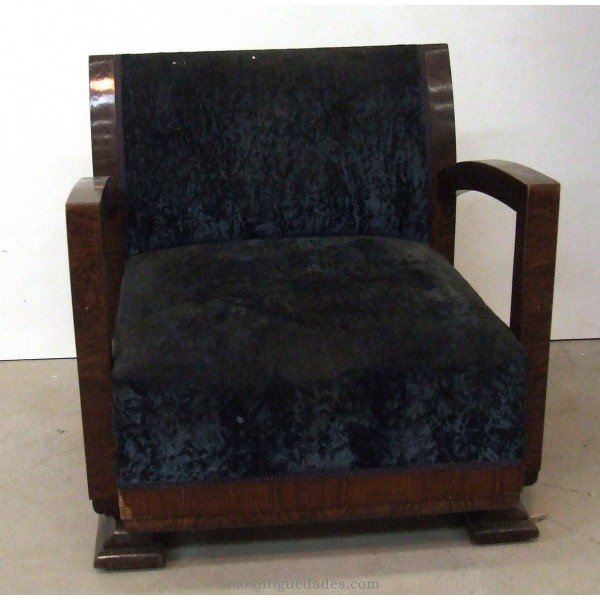 Antique Biedermeier style wooden chair