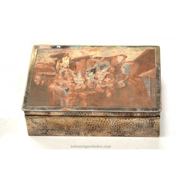 Antique Box room scene collection