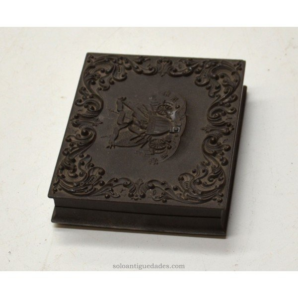 Antique Old box for daguerreotypes