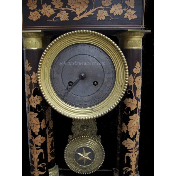 Antique Watch Empire style wooden box