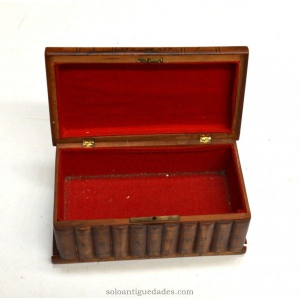 Antique Collection box with secret compartments