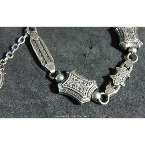 Antique Bracelet with pendant medallion
