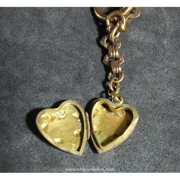 Antique Gold watch chain