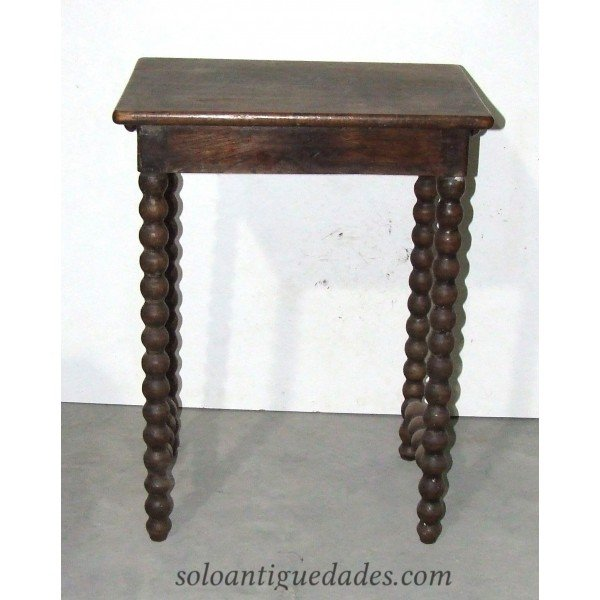 Antique Side table walnut