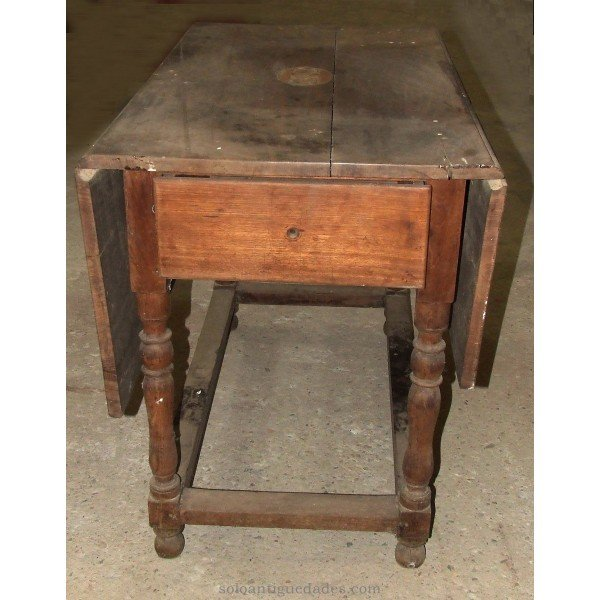 Antique Pembroke style Nightstand