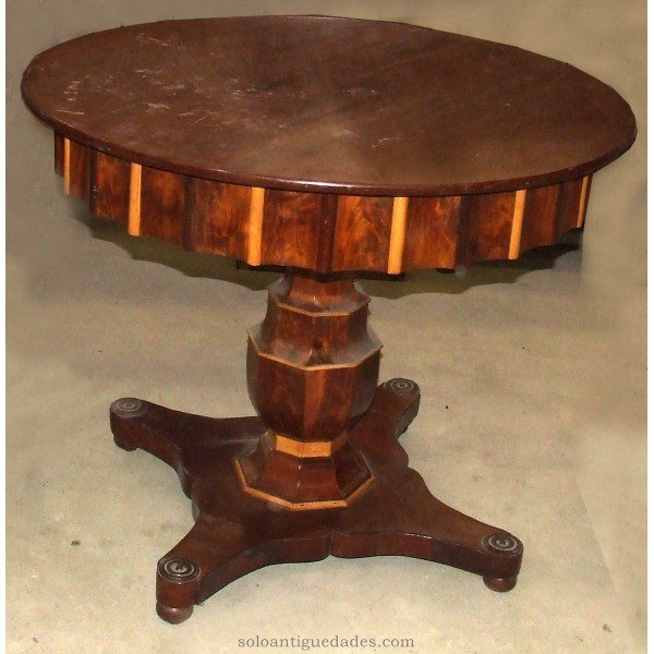 Antique Beautiful wood coffee table
