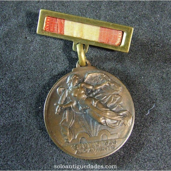 Antique Medal Franco