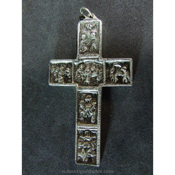 Silver cross landscapes of the Bible