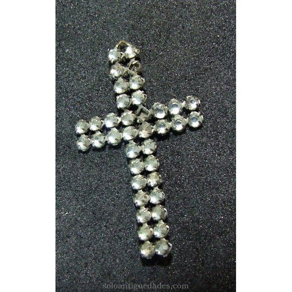 Latin cross with silver base