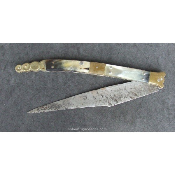 Antique Knife decorated