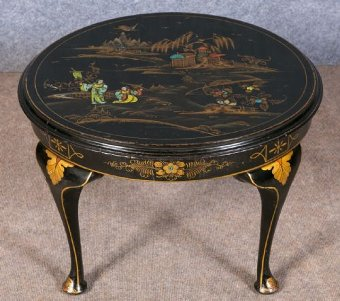Antique Small Chinoiserie Coffee Table