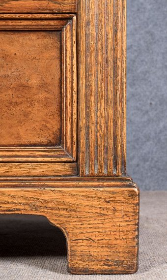 Antique Jacobean Style Solid Oak Chest of Drawers