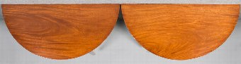 Antique Pair George III Mahogany Console Tables