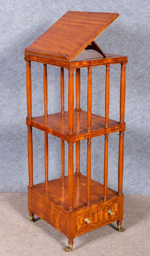 Gillows Satinwood Reading Stand