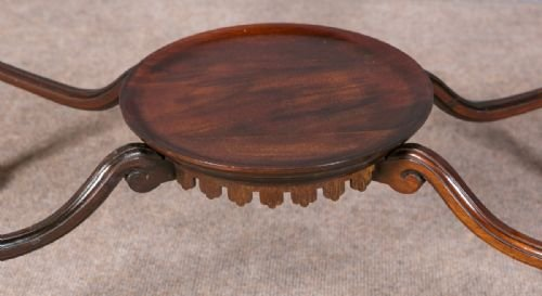 Antique Chippendale Style Bijouterie Table