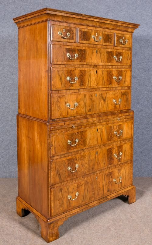 18th.Century Walnut Tall Boy