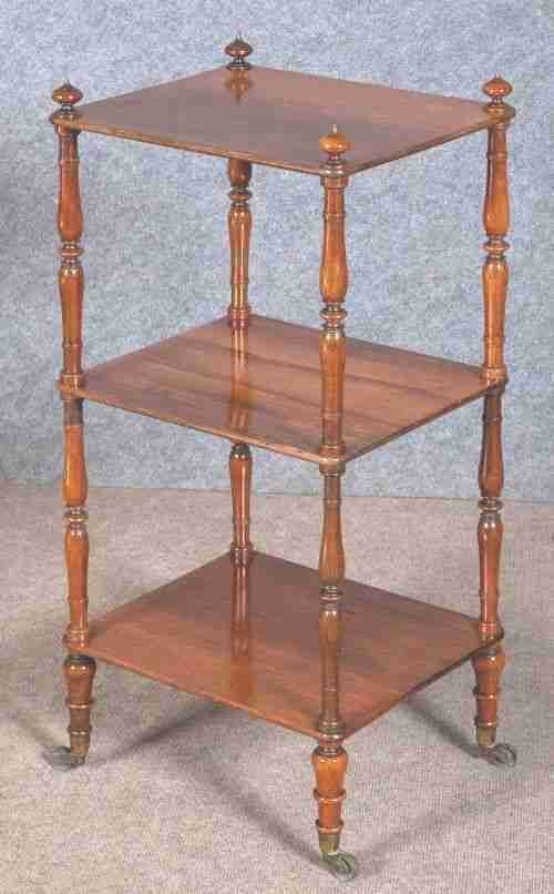 Rosewood Etagere Whatnot