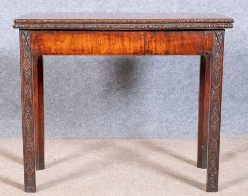 18th. Century Chippendale Period Tea Table