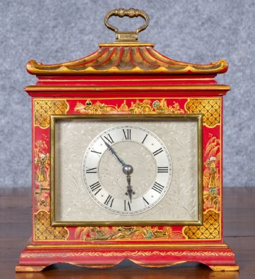Chinoiserie Mantle Clock