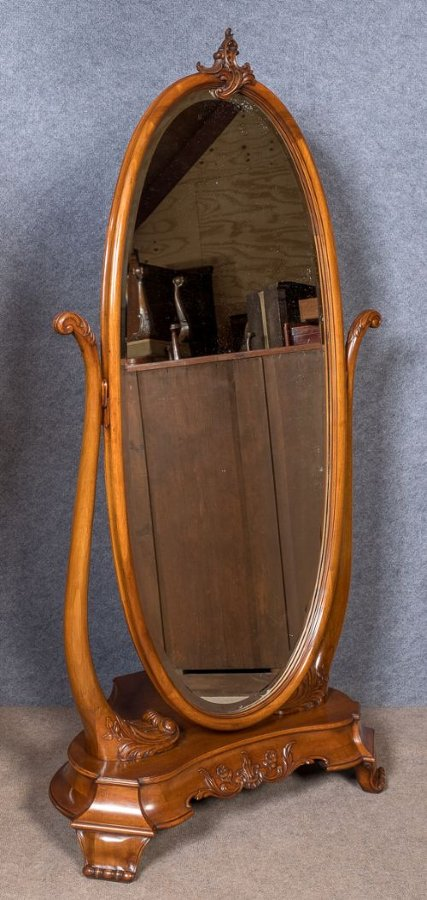 Stunning French Cheval Mirror