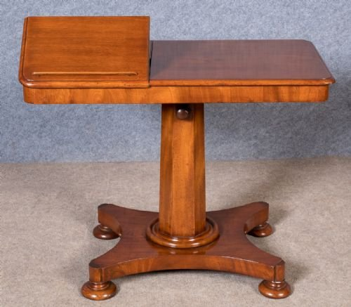 Victorian Adjustable Reading Table