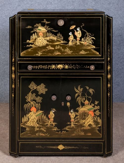 Chinoiserie Cocktail Cabinet