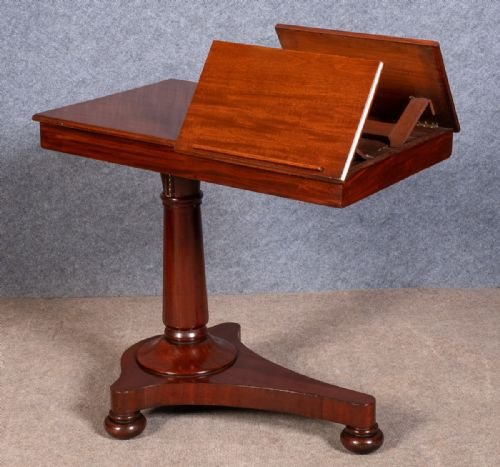 Antique Mahogany Reading Table
