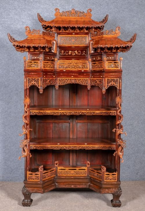 Spectacular Chinese Display Cabinet