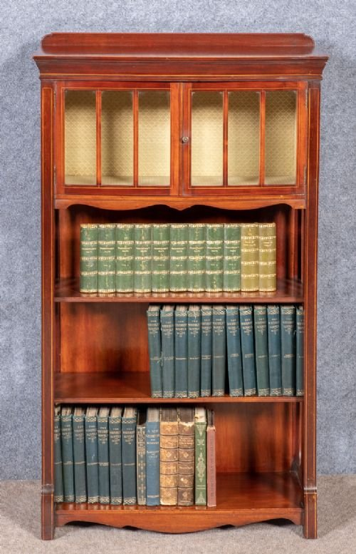 Small Edwardian Bookcase
