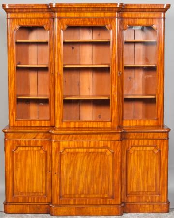 Antique Breakfront bookcase