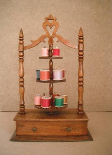 Cotton reel holder