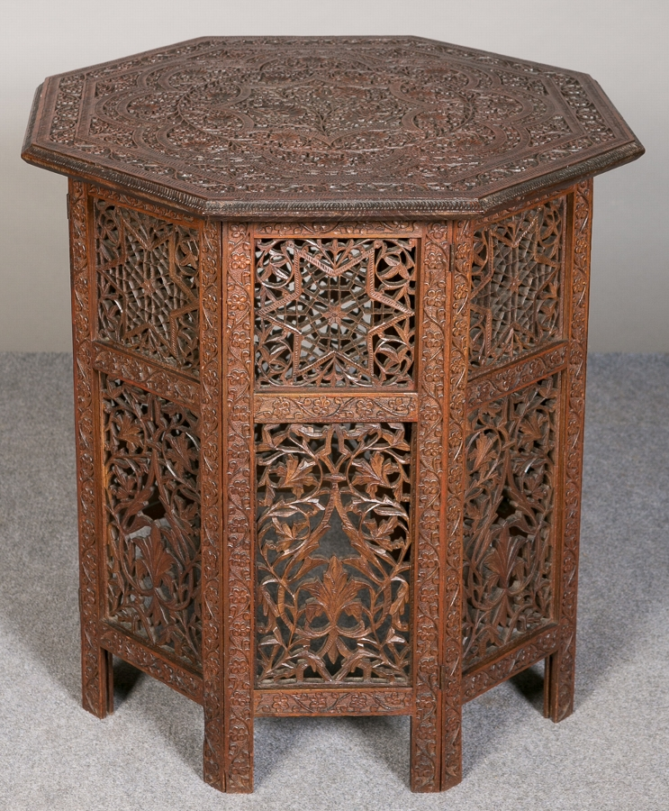Indian Teak Occasional Table