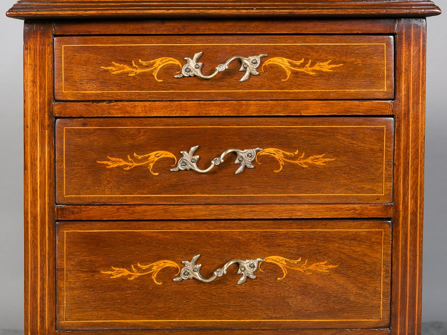 Antique Unusual Bijouterie Display Chest.