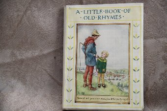 Antique A Little Book of Old Rhymes.