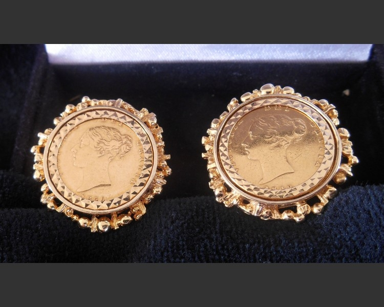 Full Sovereign Cuff Links