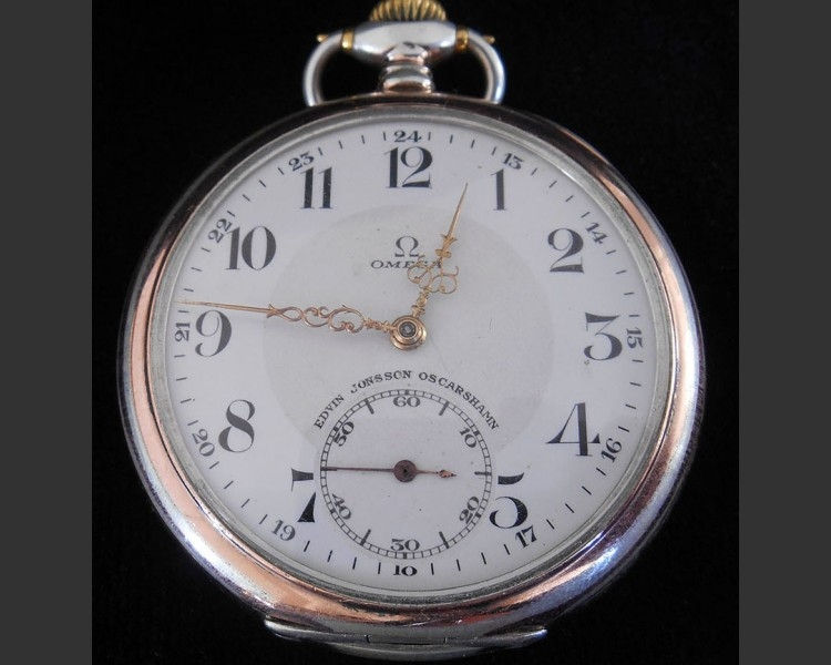 Omega Open Faced Pocket Watch